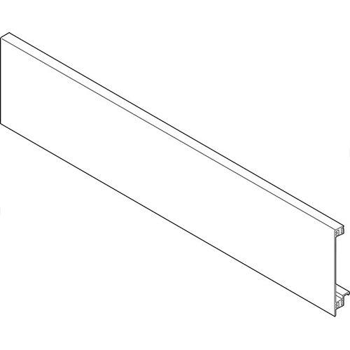 Передняя панель без паза для внутр.ящик, ШК=1200мм, белый шелк