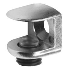 Полкодержатель 14х14мм, под стекло до 9мм, бронза