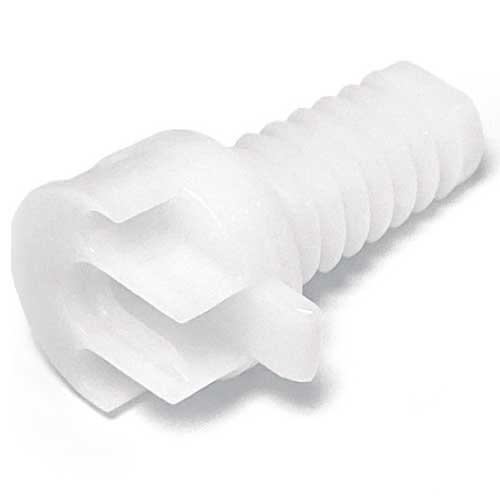 Полкодержатель Ghost mono d=20мм для полок от 25мм (передняя часть), пластик
