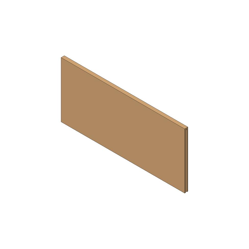 Попереч. раздел. AMBIA-LINE на ящик с высок.фасадом (ZC7F300RHU), Орех Теннесси