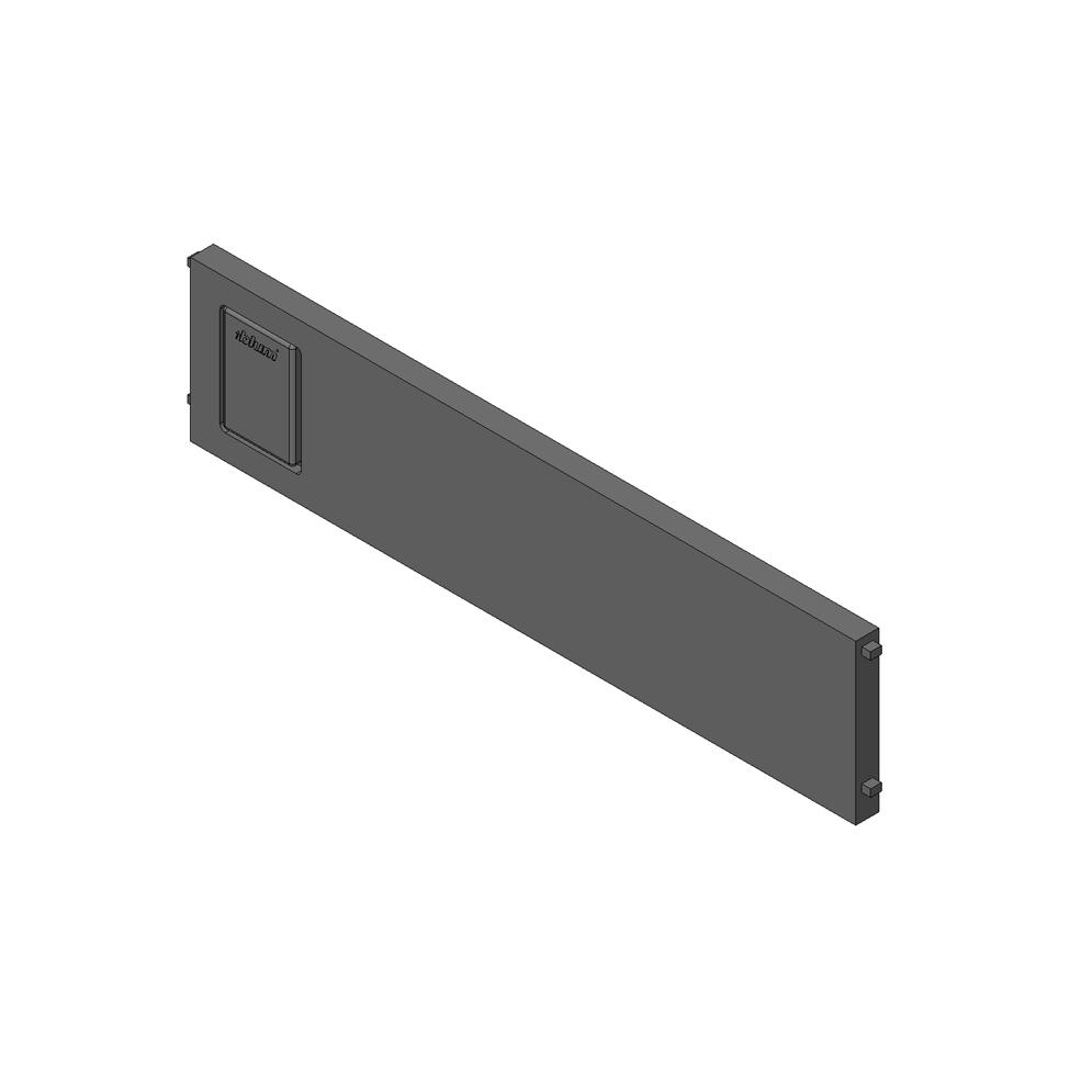 Попереч. разделитель AMBIA-LINE для LEGRABOX стандартный ящик, белый шелк