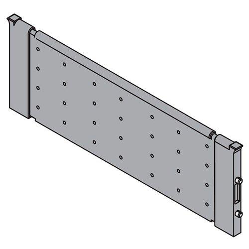 Поперечный разделитель для ORGA-LINE 176мм, тем.-серый