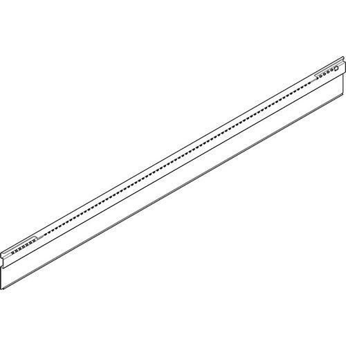 Профиль для крепл. попереч. разделит. 400мм, INTIVO, белый шелк