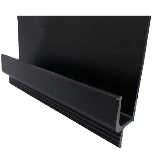 Профиль-ручка нижняя 2740мм, черный (алюм.)