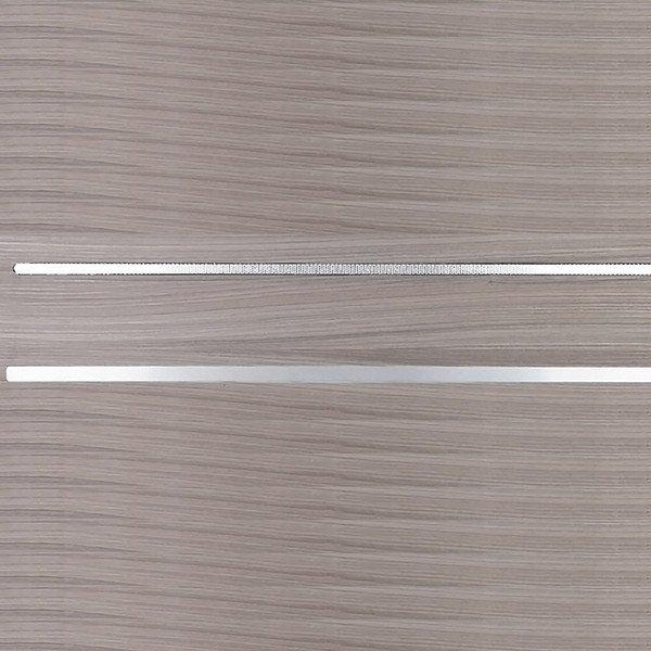 Профиль Т-обр 7x5,6мм, 3000мм, алюминий снаружи, ПВХ внутри, нерж В7