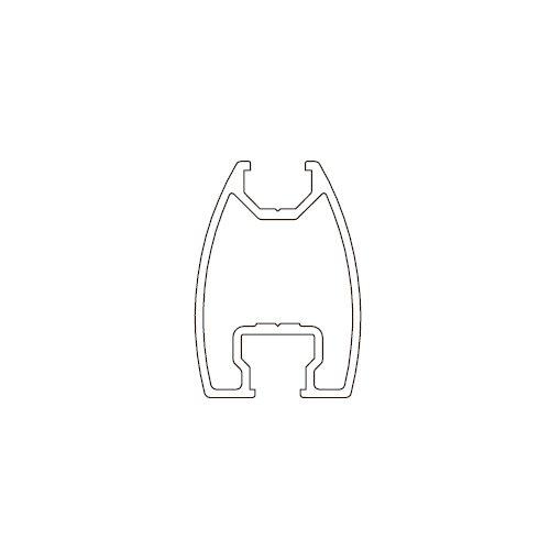 Профиль вертикальный Universal алюм., 6м