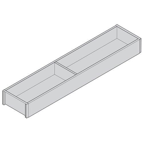 Рама AMBIA-LINE для LEGRABOX стандартный ящик, L=500мм, шир.=100мм, Дуб Небраска/ОРИОН