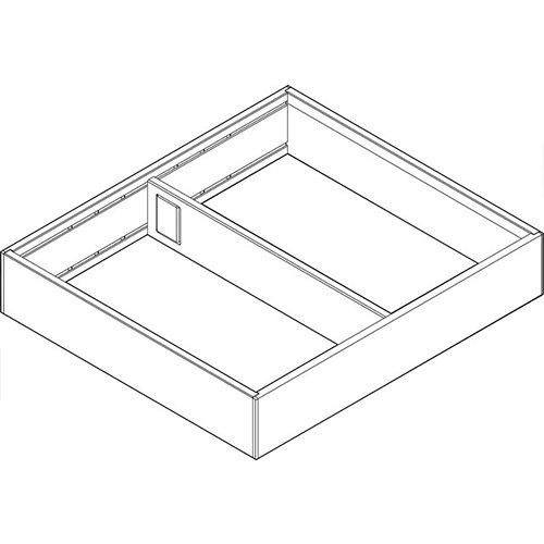 Рама AMBIA-LINE для LEGRABOX стандарт.ящик, L=270мм, шир.=242мм, белый шелк