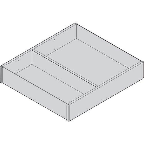 Рама AMBIA-LINE для LEGRABOX стандарт.ящик, L=270мм, шир.=242мм, Дуб Бардолино/белый
