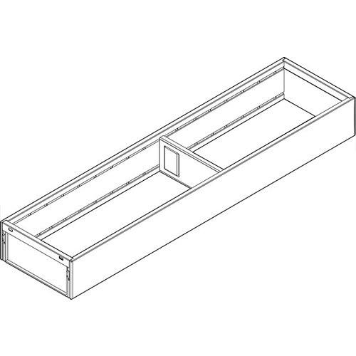 Рама AMBIA-LINE для LEGRABOX стандарт.ящик, L=450мм, шир.=100мм, белый шелк