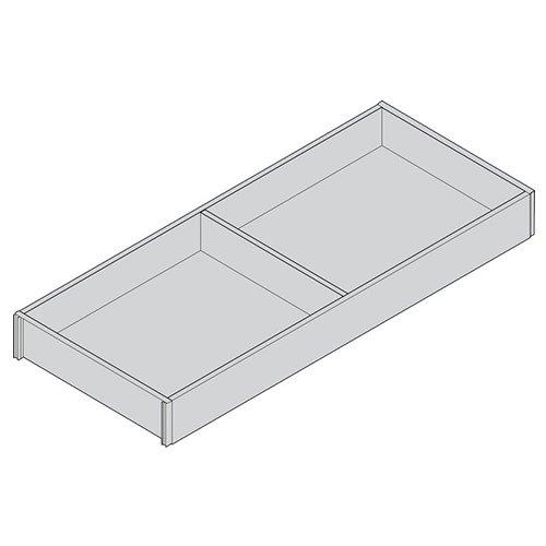 Рама AMBIA-LINE для LEGRABOX стандарт.ящик, L=500мм, шир.=200мм, Дуб Бардолино/белый