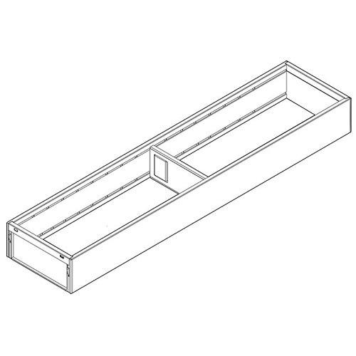 Рама AMBIA-LINE для LEGRABOX стандарт.ящик, сталь, L=500мм, шир.=100мм, белый шелк