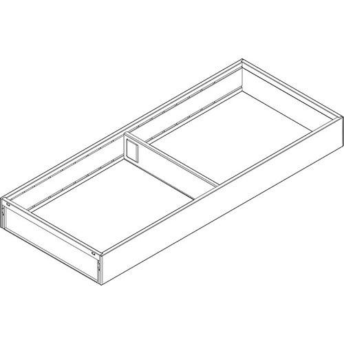 Рама AMBIA-LINE для LEGRABOX стандарт.ящик, сталь, L=500мм, шир.=200мм, белый шелк