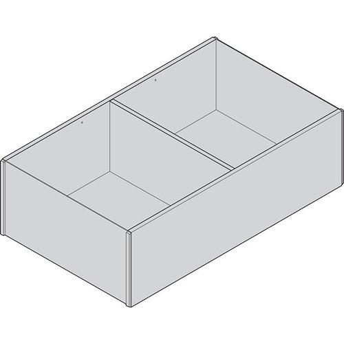 Рама AMBIA-LINE для LEGRABOX, ящик с высок.фасадом, от L=400мм, шир.=218мм, Дуб Бардолино/белый