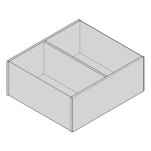 Рама AMBIA-LINE для LEGRABOX, ящик с высок.фасадом, от L=270мм, шир.=242мм. Дуб Небраска/ОРИОН