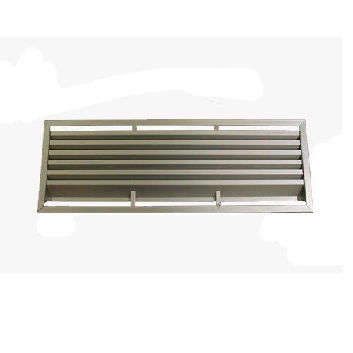 Решетка вентиляционная 480х150мм, алюм. мат.