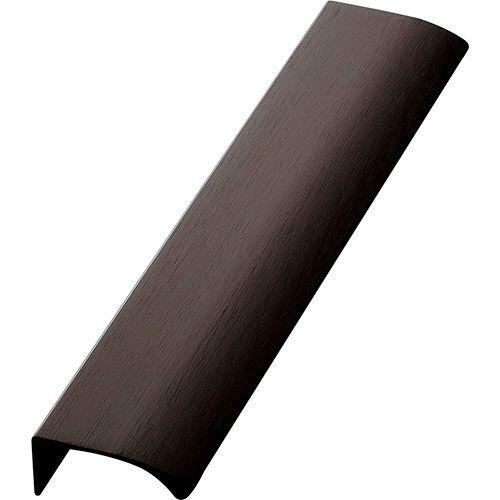Ручка EDGE Straight 200х40,9х18мм, м/о 2/80мм, черный браш
