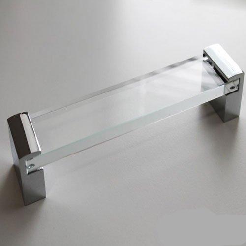 Ручка хром пол./стекло м/о 320мм