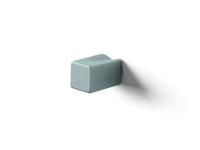 Ручка-кнопка 10х10х18мм, алюминий