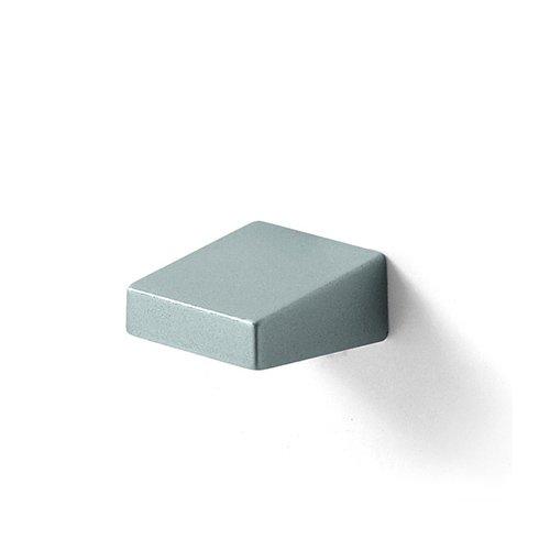 Ручка-кнопка 22х25мм, алюминий