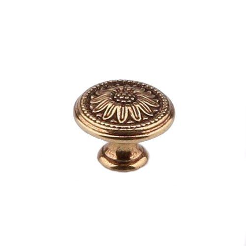 Ручка-кнопка d=25мм, золото Франции
