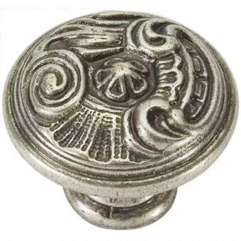 Ручка-кнопка d=30мм, никель мат.