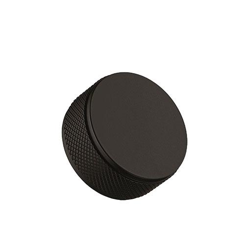 Ручка-кнопка HARLEQUIN MINI d34хh16мм, черный мат.