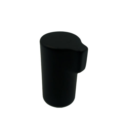 Ручка-кнопка SCOPE d16х30хh20мм, черный мат.