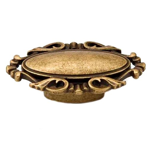 Ручка-кнопка стара бронза