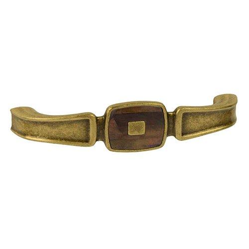 Ручка старая бронза/искусств. жемчуг м/о 128мм