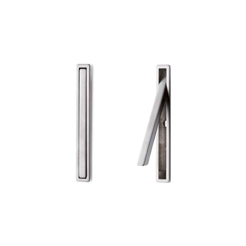 Ручка врезная, темно-коричневый