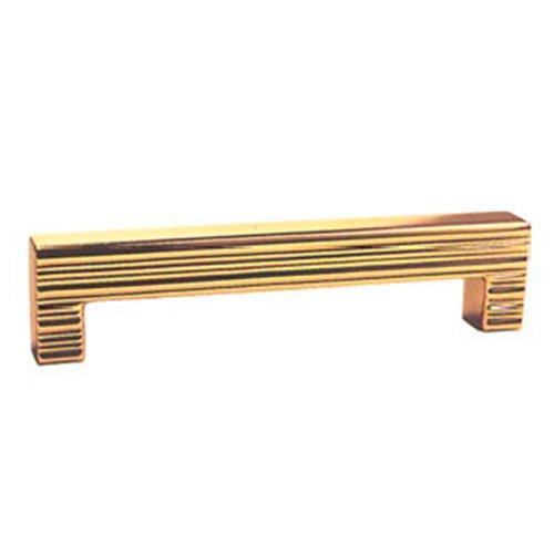 Ручка золото мат. L=74мм, м/о 64мм