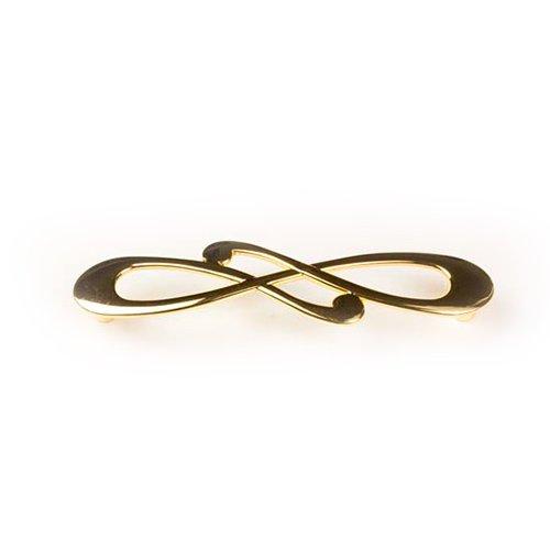 Ручка золото пол. L=148мм, м/о 128мм