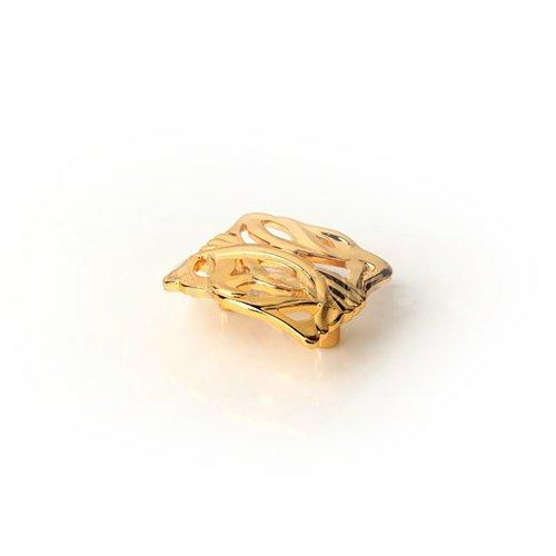 Ручка золото пол. м/о 32мм