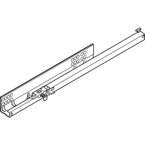 TANDEM частич. выдв. L=260мм, левый, со встроенн. Blumotion