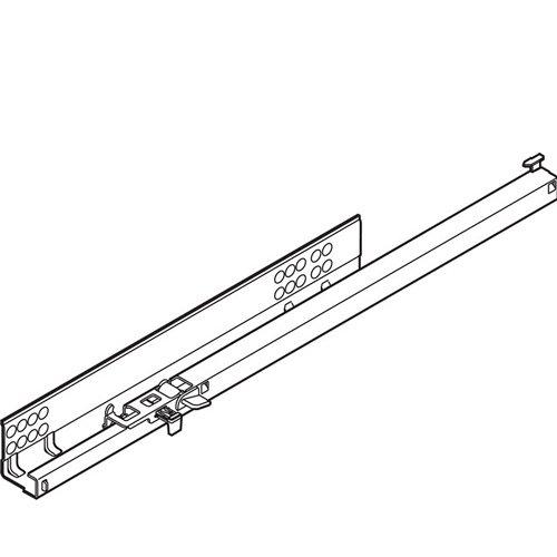 TANDEM частич. выдв. L=510мм, левый, со встроенн. Blumotion