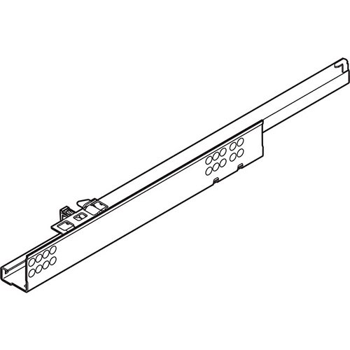 TANDEM частич. выдв. L=560мм, правый, со встроенн. Blumotion