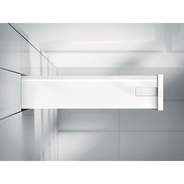 TANDEMBOX antaro, TIP-ON BLUMOTION, висота K 550, 65кг, белый шелк