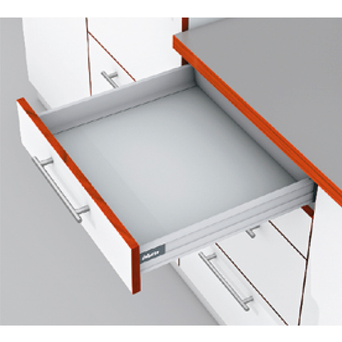 TANDEMBOX plus, TIP-ON BLUMOTION, высота N 500, 65кг, серый