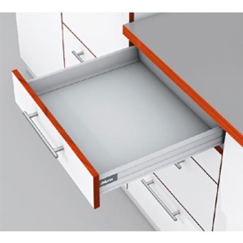 TANDEMBOX plus, TIP-ON BLUMOTION, высота N 550, 65кг, серый