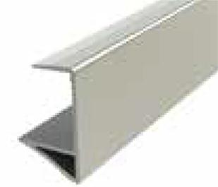 Торц. планка XL для 18мм h=27.4мм, черный анод. (алюм.) 4,7м