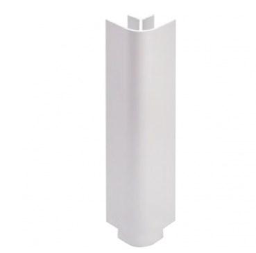 Угол наружный 90гр. белый глянец H=100мм (пластик)