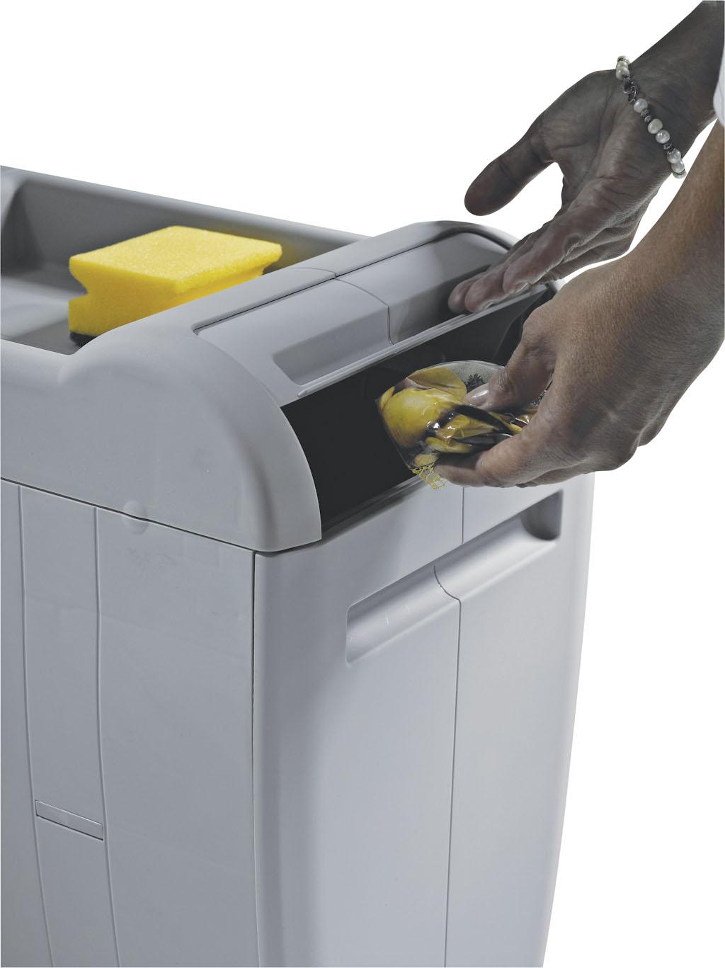 Ведро для мусора CITY (350х470х440мм) 1х18л+2х8л (1фильтр) пластик