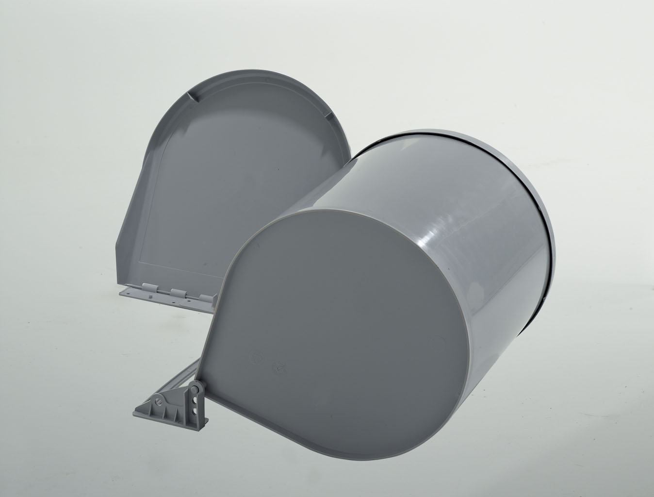 Ведро для мусора RING 10л автомат. открывание (265x320мм) на секцию от 400мм, пластик