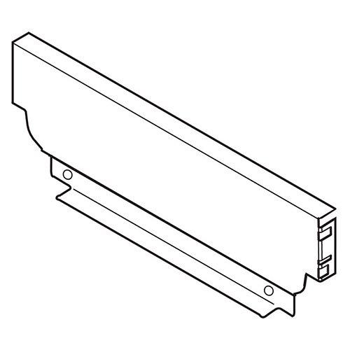 Задняя стенка из стали, высота M (96.5), ВнШ=162.5-163.4мм, белый шелк