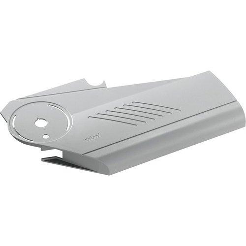 Заглушка механізму AVENTOS HS ліва (пластик), білий шовк