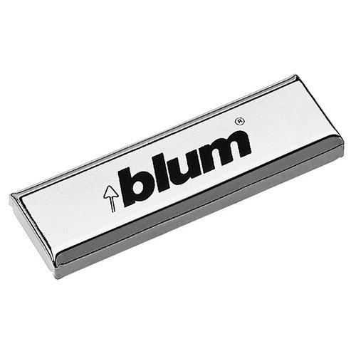 Заглушка на плечо накл.петли, с лого Blum, правая